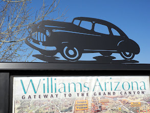 Photo: Williams was a good choice for our layover day.  Now, on to Winslow.