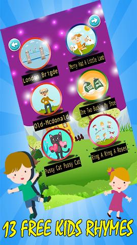 android English Nursery Rhymes For Kid Screenshot 0