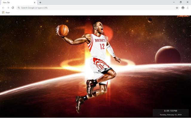 Vince Carter NBA New Tab Theme