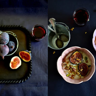 Honey-Caramelized Figs with Shrikhand-style Yogurt