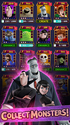 Hotel Transylvania: Monsters! - Puzzle Action Game 1.6.2 screenshots 2