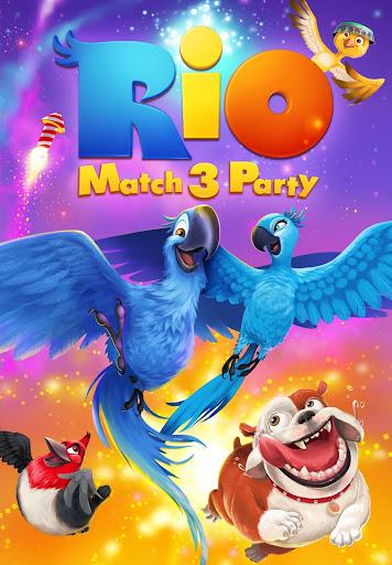 Rio: Match 3 Party (Mod)