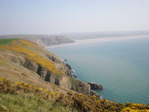 Photo: From Broad Haven to Solva (looking back to Broad Haven)