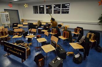 Photo: Auch die Musik macht mal Pause !