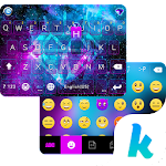 Galaxy Sparkle Kika Keyboard 8.0 Apk