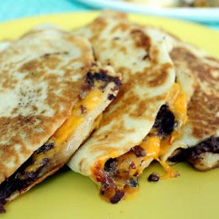 Classic Breakfast Chicken Quesadilla.