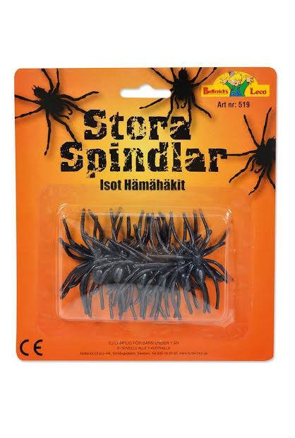 Stora spindlar, 12st