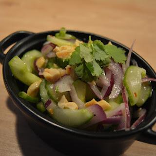 Thai Inspired Cucumber Salad