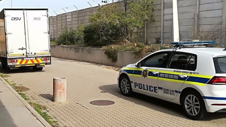 A hijacked courier truck found back by Port Elizabeth Flying Squad
