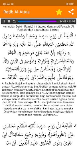 Ratib Al-Attas Lengkap - Terjemah & MP3 screenshot 11