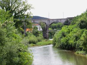 Photo: Fiume Vipacco, około kilometra odległości od ujścia do Isonzo.