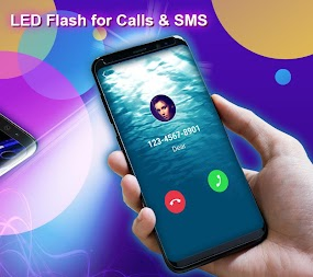 Phone Color Screen - Colorful Call Flash Themes APK screenshot thumbnail 4
