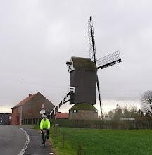 """Photo: Le moulin d'Aalbeke """"Hoogmolen"""""""