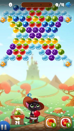 Fruity Cat -  bubble shooter! modavailable screenshots 9