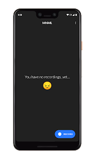 MNML Screen Recorder Screenshot