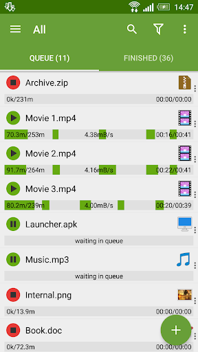 Advanced Download Manager 7.5 screenshots 1