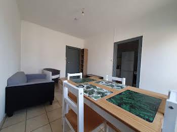Appartement meublé 2 pièces 41,7 m2
