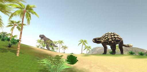 VR Time Machine Dinosaur Park (+ Cardboard) game for Android screenshot