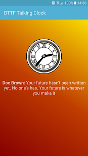 Back To The Future Clock- screenshot thumbnail
