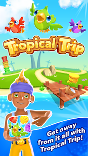 Tropical Trip - Match 3 (Mod Coins/Lives)