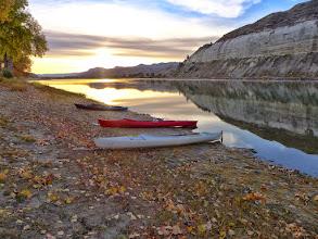 Photo: Sunrise at Salughter River Saturday morning