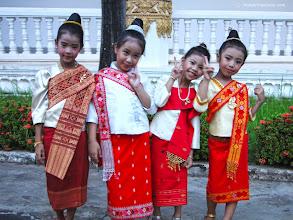 Photo: Isaan girls Vientiane Laos