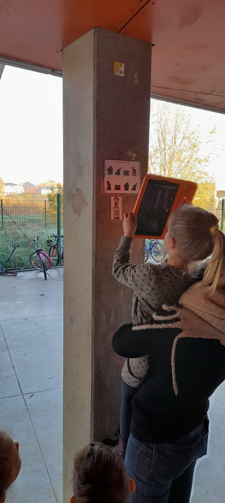 Qr code in de kleuterschool