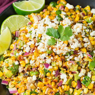 Mexican Street Corn Salad with Avocado Recipe