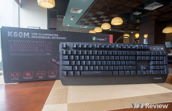Đánh giá bàn phím cơ i-Rocks K60M