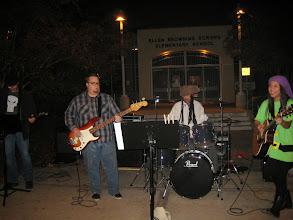Photo: The live band rocks!