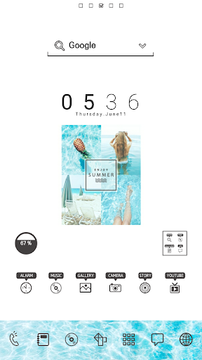 EnjoySummer DodolLauncherTheme