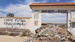 Entrada principal a los campos de Barranco Hondo.