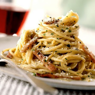 American Spaghetti Bacon Recipes