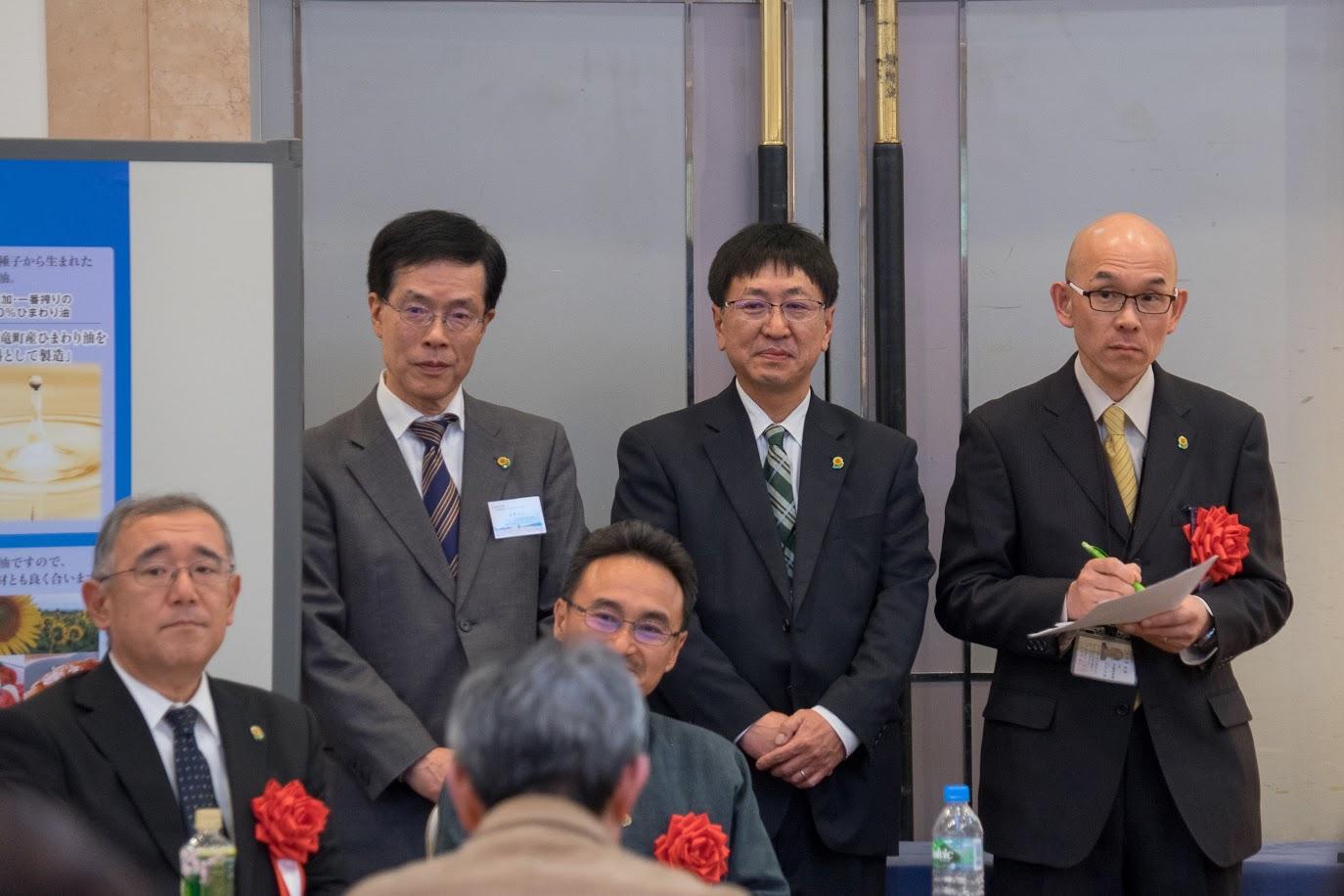 北竜町ひまわり再生プロジェクトメンバー