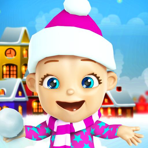Talking Babsy Baby Xmas Games Icon