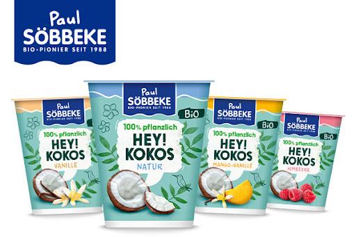 Bild für Cashback-Angebot: SÖBBEKE HEY! KOKOS – pflanzliche Joghurtalternative