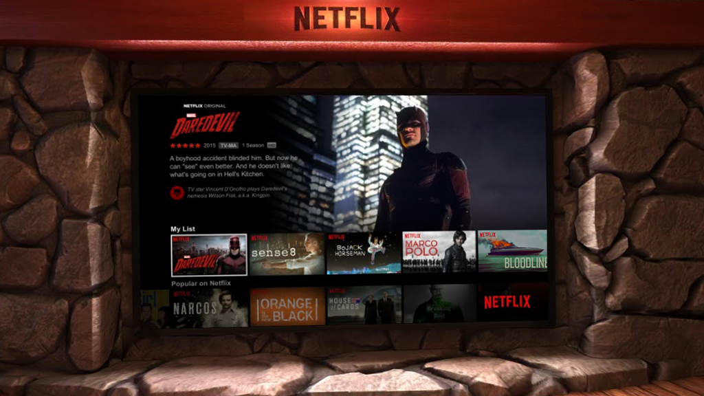 Netflix VR- screenshot