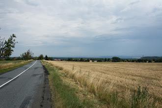 Photo: Ciężkie deszczowe chmury odeszły w kierunku Wysokiego Jesionika.