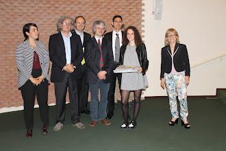 """Photo: Piccolo Agone Placidiano 2015: Vincitrice per il Liceo Classico """"Parini"""" di MIlano: Gaia Minoli (2° anno)"""