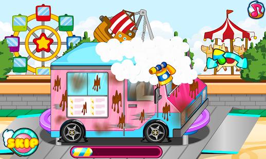 Ice cream truck car wash - náhled