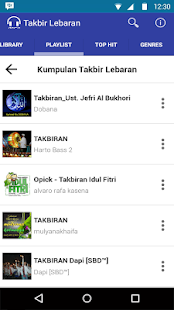 Mp3 Takbir Lebaran 2016 Full- screenshot thumbnail