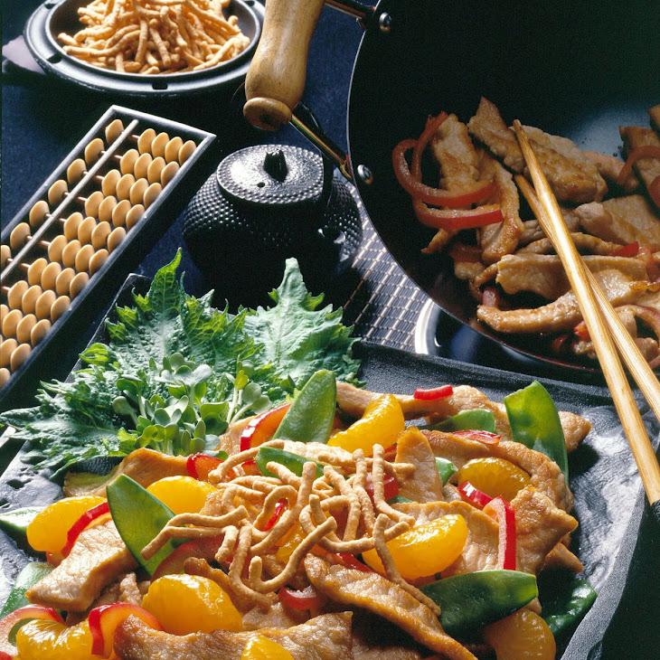 Chinese Pork Salad Recipe