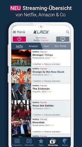 KLACK Fernseh- & TV-Programm 1.18.8 screenshots 5