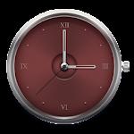 Iron Red - Clock Widget Icon