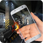 Fire Gun Transparent Screen