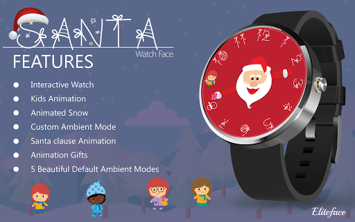 Santa Watch Face for Christmas