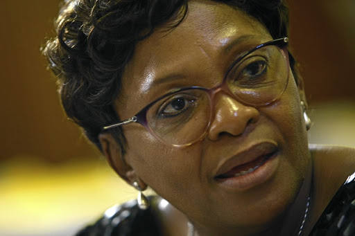 Nomvula Mokonyane. File photo.