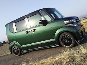 Nボックスカスタム JF1 H28年式・緑黒箱のカスタム事例画像 Nちびさんの2019年03月02日17:50の投稿