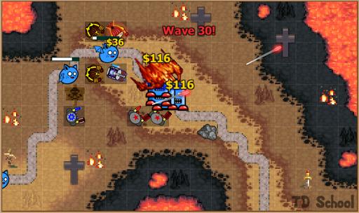Tower Defense School - Online TD Battles Strategy apktram screenshots 6
