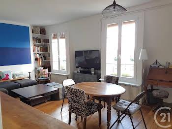 Appartement meublé 3 pièces 56,8 m2